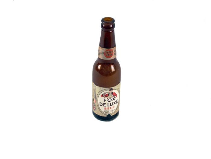 Bottle, Fox Deluxe Beer