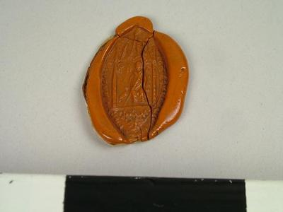 Seal, Impression Of The Seal Marked 'mr. Straker'