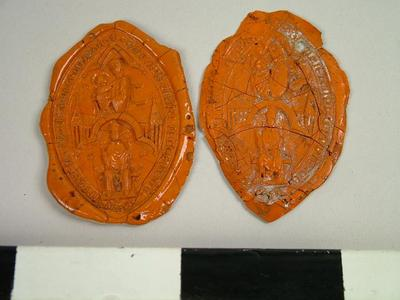 Seals, Impression Of The Seal Of The Dean Of Durham