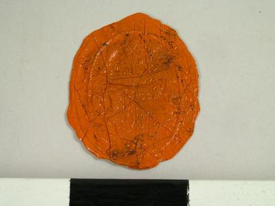 Seal, Impression Of The Seal Of Rivington School, Lancashire