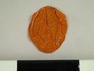 Seal, Impression Of The Seal Of A Mark 'edone I R'
