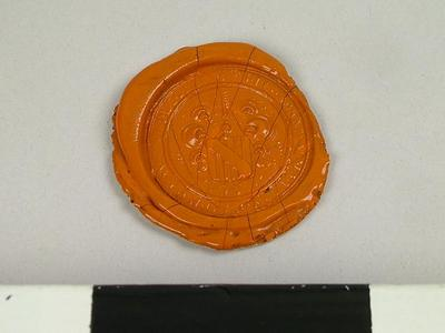 Seal, Impressions Of The Seal Of The Manor Of Eggleston Co.,  Durham