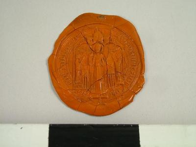 Seal, Impression Of The Seal Of The Abbey Of St. Hilda, Whitby