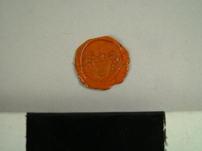 Seal, Impression Of The Seal Of John Lee, Standrop