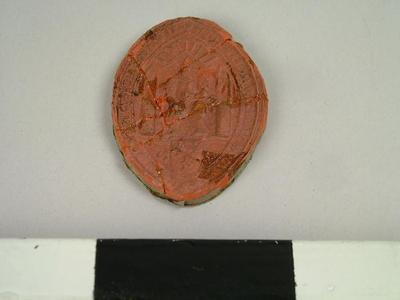 Seal, Impression Of The Seal Of The Basil Woobb