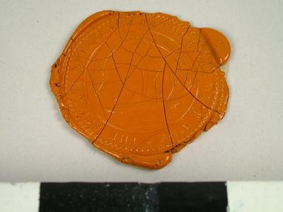 Seal, Impression Of The Seal Of The Society Of Keelman Of The River Ware