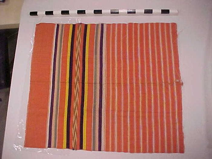 Fragment, Jaspe Or Ikat Weaving