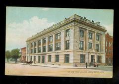 Postcard, 'the New Press Building, Grand Rapids, Michigan'