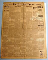 Newspaper, The Evening Press