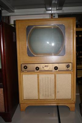 Console Television Set