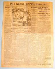 Newspaper, Grand Rapids Herald