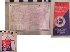 Map, Michigan, Highways Are Happy Ways