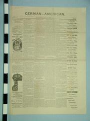 Newspaper, The German-american