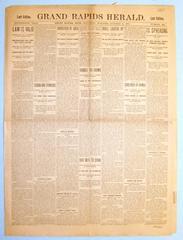 Newspaper, The Grand Rapids Herald