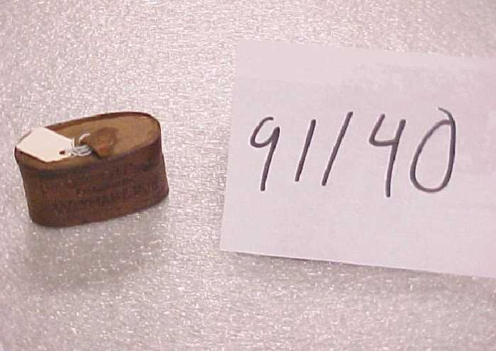 Oval Band Snuff Box, 'copenhagen Snuff'