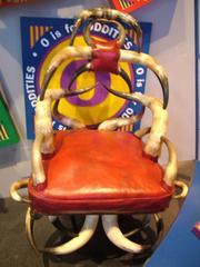 Chair, Arm, Horn