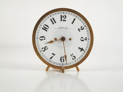 Clock, Gas Light
