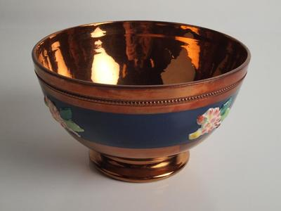 Bowl, Lusterware