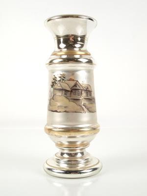Vase, Mercury Glass