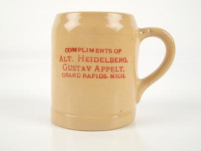 Mug, Shaving, Alt. Heidelberg Gustav Appelt