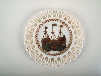 Plate, World's Columbian Exposition