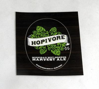 Sticker, New Holland Brewery Hopivore