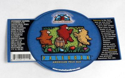 Label, New Holland Brewery Paleooza