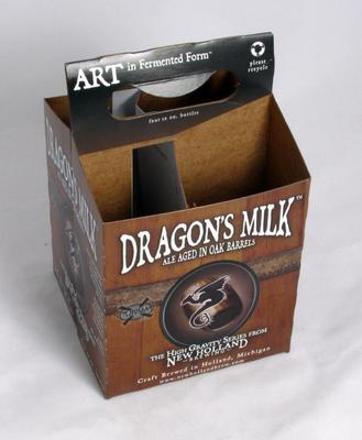 4 Pack Holder, Dragon's Milk