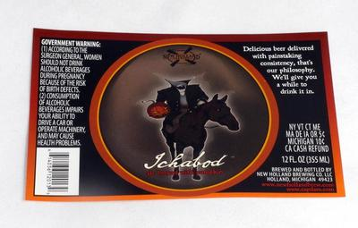 Label, New Holland Brewery Ichabod