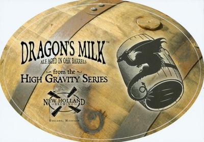 Sticker, New Holland Brewery Dragon's Milk