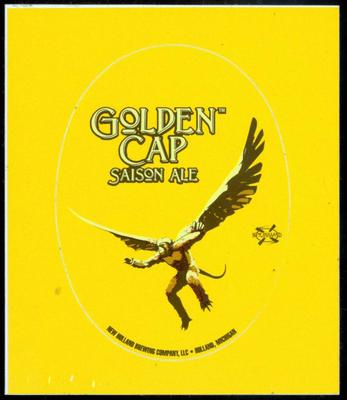 Sticker, New Holland Brewery Golden Cap