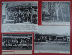 Photograph Board, Meat Markets, Grand River Sturgeon