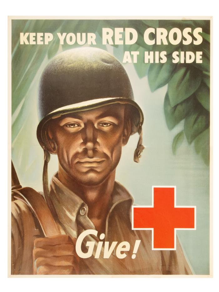 Poster, Keep Your Red Cross at His Side