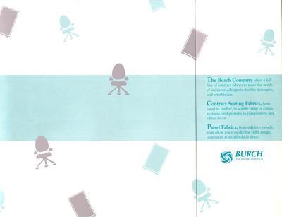 Trade Catalog, The John K. Burch Company, Seating and Panel Fabrics