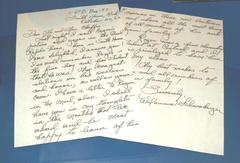 Letter, Reproduction, Congratulations From Wilamena Schoonberger, Central High School Chemistry Teacher Of Roger B. Chaffee, Roger B. Chaffee Archive Collection #6