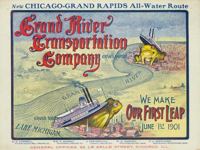 Poster, Grand River Transportation Company