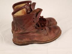 Flight Boots (pr.) Used By Roger B. Chaffee, Roger B. Chaffee Archive Collection #6