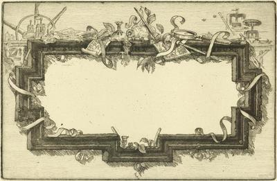 Print, 'Cartouche - State III (Final; Edition State)' (3 Of 3)