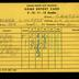 Card, Report Card Of Roger Chaffee In The 9th Grade At Central  High School, January 1950, Reproduction, Roger B. Chaffee Archive Collection #6