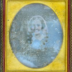 Cased Photograph, Mrs. Jarvis Brush