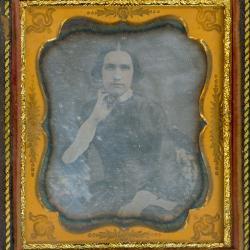 Cased Photograph, Mrs. John Simonds