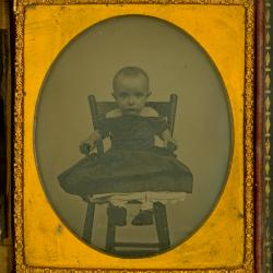 Cased Photograph, Miss Simond's Sister