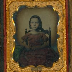 Cased Photograph, Miss Simonds' Sister