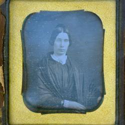 Cased Photograph, Miss Simonds' Aunt