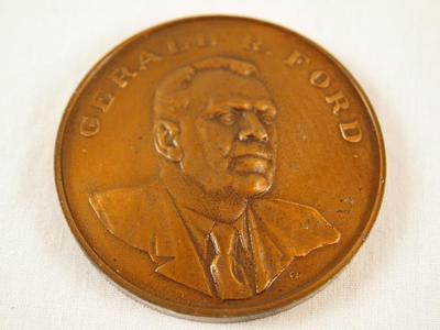 Medallion, Gerald R. Ford