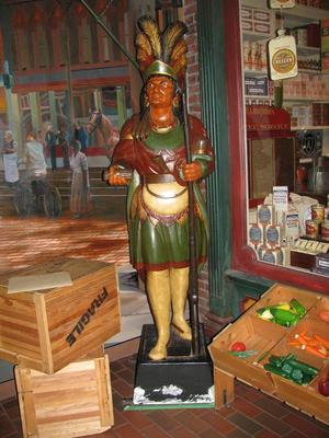 Statue, Cigar Store Indian