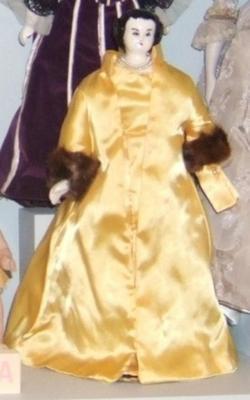 Doll, 'claudia Alta Taylor (lady Bird) Johnson'