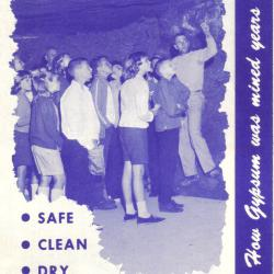 Booklet. Visit The Underground Gypsum Mine