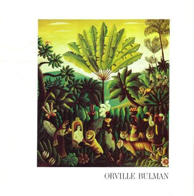 Booklet, Pictures In Color Of Orville Bulman Paintings On Exhibit  At Hammer Galleries In New York, During October Of 1975.
