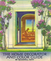 Booklet, 'the Home Decorator And Color Guide,' By Rockwell Kent